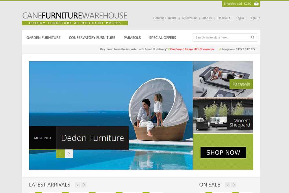 Ecommerce furniture